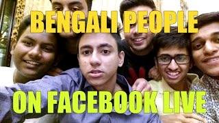 Bengali people on facebook live|| Bangla New funny video 2017