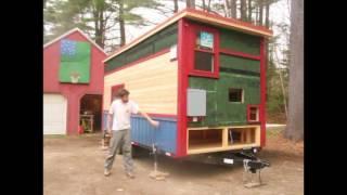 The Whirly House - 8x18 Tiny House Build Walkthrough