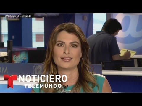 Polémica por periodista que pronuncia correctamente nombres en español   Noticiero   Noticias Telemu