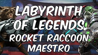 Labyrinth Of Legends - Rocket Raccoon & Maestro #2  - Marvel Contest Of Champions