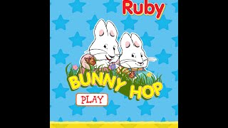 Max & Ruby: Bunny Hop - App Gameplay