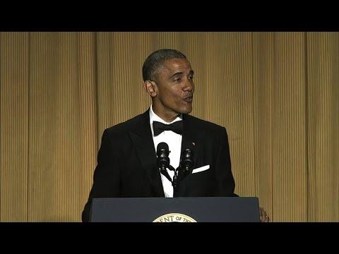 Obama s best 2016 jokes at the White House Correspondents Dinner