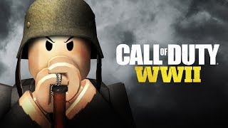 CALL OF DUTY: WWII IN ROBLOX