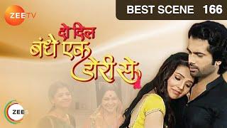 Do Dil Bandhe Ek Dori Se - Hindi Serial - Episode 166 - Zee TV Serial - Best Scene