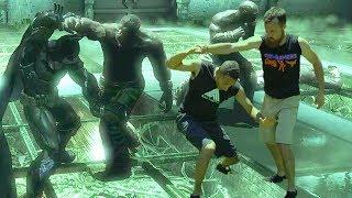 Batman Fighting Style | Combo Takedown Analysis