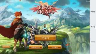Brave Trials Gameplay