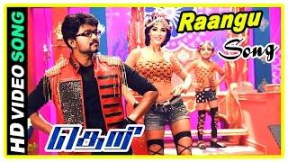 Theri Climax Scene | Vijay kills Mahendran | Raangu Song | End Credits | Baby Nainika | Rajendran