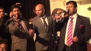 Ex-MP Elias Ali singing a song in London