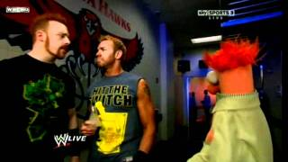 The Muppets on WWE Raw