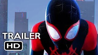Spider-Man: Into the Spider-Verse Official Trailer #1 (2018) Marvel Animated Superhero Movie HD