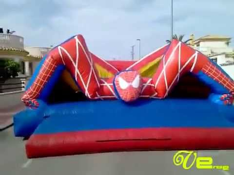 Hinchable de Spiderman Enano Verde Espectaculos360p H 264 AAC