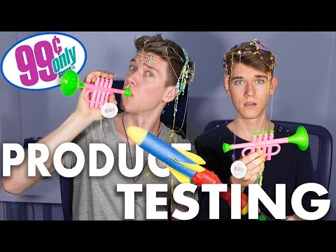 99 CENT STORE PRODUCT TESTING Sibling Tag Devan & Collins Key