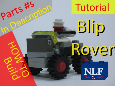 Xxx Mp4 Blip Rover MOC Building Instructions W Parts List And Parts Numbers Inspired By Peter Rieds Blips 3gp Sex
