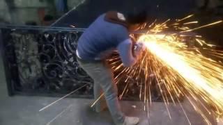 مصنع الهادي  للاساس المعدني والحديد المشغول واعمال الديكور