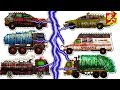 Learning Street Vehicles Name For Kids L Garbage Truck Fire Truck Car L Good And Bad Cartoon Video