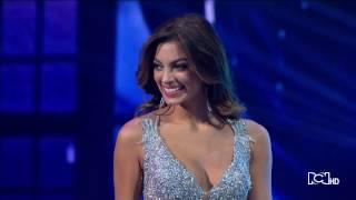 Miss Colombia 2017   Desfile Final Top 10 Final Look Top 10