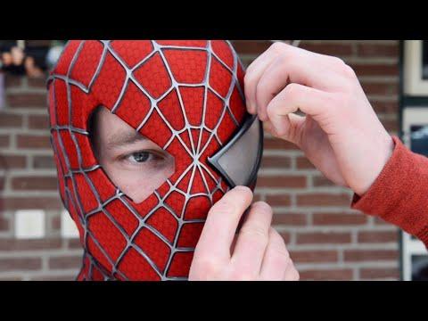 Making the SPIDER MAN Mask Movie Costume Replica