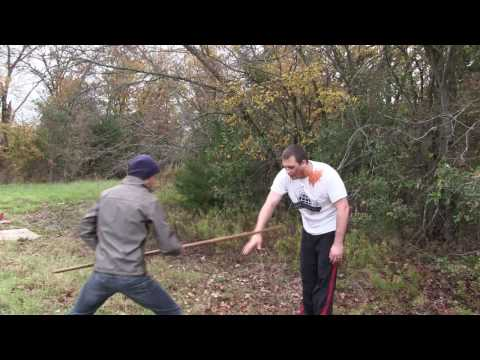 How to use a Bo Staff like Morgan (Walking Dead) – Combat Bo Strikes