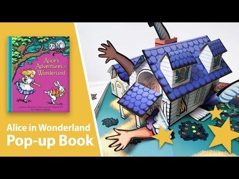 Alice in Wonderland Pop Up Book by Robert Sabuda