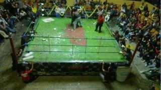 @krizShiLeVicion EPIDEMIA DESTRUCTIVA INFECCIÓN MASIVA Damian 666 vs Suprme