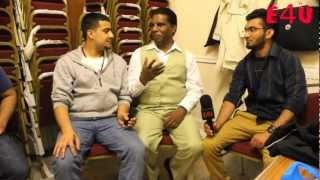 Mouj Masti Mela backstage Amanat Chan interview in  EastHam Town Hall London