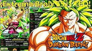 Nuevo Extreme Broly SSJ3 TEQ (Japon) | DBZ Dokkan Battle En Español