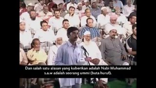 SERU !!! SEORANG NON MUSLIM MENGAJAK DEBAT DENGAN DR ZAKIR NAIK 2016
