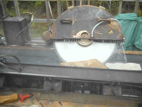 Stone Veneer cutting machine / cutting natural thin stone