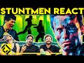 Stuntmen React To Bad & Great Hollywood Stunts 6
