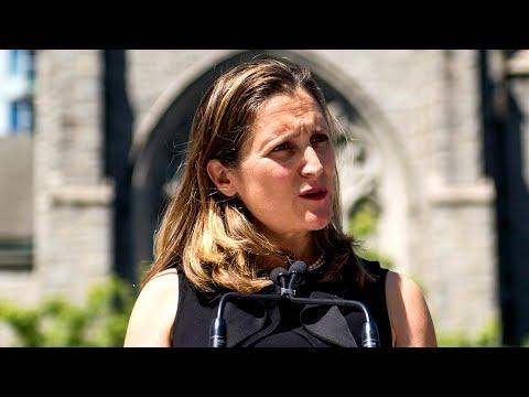 Xxx Mp4 Chrystia Freeland Defends Canada S Stance On Saudi Arabia Amid Sanctions 3gp Sex