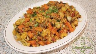 How to cook Mixed Vegetable - Bengali Food [bangla]