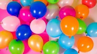 Surprise Balloons with Toys Dora Explorer Spider-Man Peppa Pig Angry Birds Disney Princess Eggs