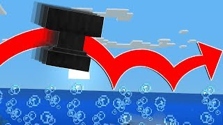 AMAZING WATER TRICKS in MINECRAFT 1.13!