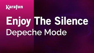 Karaoke Enjoy The Silence - Depeche Mode *