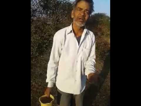 Village old man Riffused to use toilet in India ..
