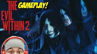 OMG! THESE BOSS BATTLES ARE NO JOKE!! [THE EVIL WITHIN 2] [GAMEPLAY]