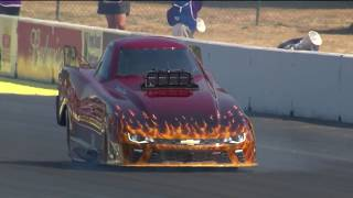 2018 CatSpot Northwest Nationals Top Alcohol Funny Car winner Chris Marshall