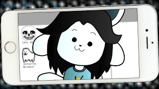 THE MUST HAVE UNDERTALE APP!! | The I-Tem (Undertale Fangame)