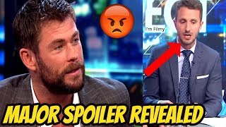 Thor 3: Ragnarok - Chris Hemsworth Gets Angry On Interviewer For Revealing a Major Spoiler - 2017