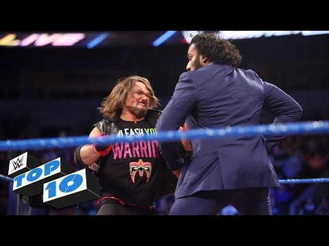 Xxx Mp4 Top 10 SmackDown LIVE Moments WWE Top 10 October 17 2017 3gp Sex