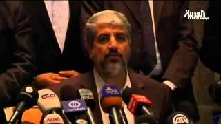 مشعل يشكر إيران على جهودها مع حماس في غزة