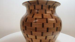 Segmented Vase with Large Opening