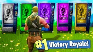 HARDCORE Vending Machine ONLY CHALLENGE in Fortnite