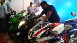Chennai superbikes exhaust sound