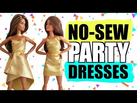 Xxx Mp4 How To Make No Sew Dresses For Barbie Clothes For Dolls 3gp Sex