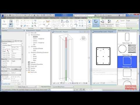 REVIT Structure Rebar Reinforcing Stirrup Placement Tips - CADclip