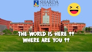 Answered | Why the World is at SHARDA UNIVERSITY? | Crazy Reactions | Ft. CarryMinati