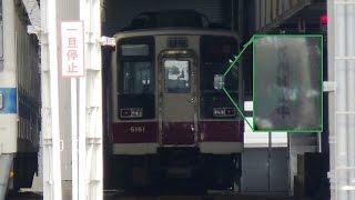 【東武 6050系 6161F 休車確定】東武 6050系 6161F 「使用休止中」表示、スカート外し確認 休車確定