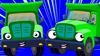 The Wheels On The Truck | Nursery Rhyme | Childrens Song | Baby Rhymes