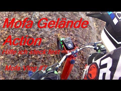 Mit dem Mofa im Gelände/ Mofa Vlog #7/